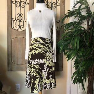 H&M 100% linen skirt